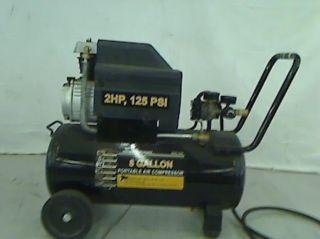 Central Pneumatic 2 HP 8 Gallon 125 PSI Portable Air Compressor TADD