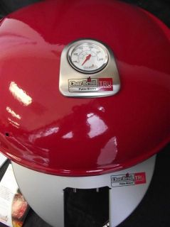 Char Broil 12601578 Patio Bistro Tru Infrared Electric Grill Red