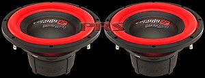 Cerwin Vega Mobile 12 Car Audio Subwoofers 500 Watt dual 4 Ohm Subs