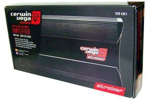 Cerwin Vega Stroker 800 4 4 Channel 800 Watts Car Amplifier STKR8004