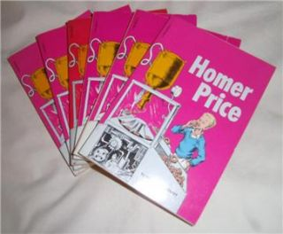 Guided Reading Set of 6 Homer Price by Robert McCloskey