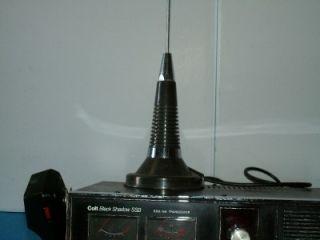 colt black shadow ssb am cb base radio w antenna