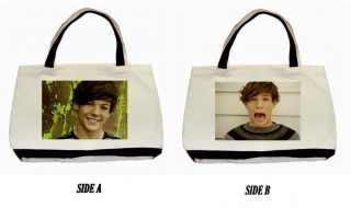 New One Direction Louis Tomlinson Photo Custom Classic Tote Bag