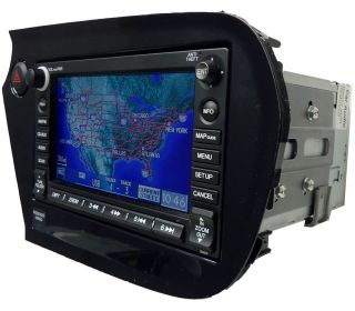 2011 Honda INSIGHT Satellite Radio NAVIGATION GPS Disc CD Changer 2AH1