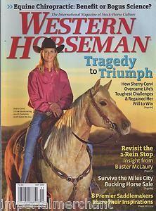WESTERN HORSEMAN MAGAZINE SHERRY CERVI MILES CITY BUCKING HORSE SALE