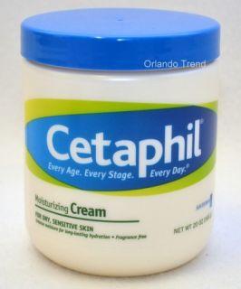 Cetaphil Moisturizing Cream Dry Sensitive Skin 20 oz Pomada 566G Crema