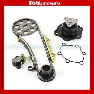 Engine Timing Chain Water Pump Kit 99 02 Saturn SC1 SL SL1 SW1 1 9L