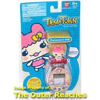 Bandai Tamatown by Tamagotchi Chamametchi 109 Character Figure Virtual