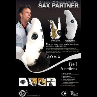 Partner Tenor Saxophone Silencer Mute Mobile Recording Studio