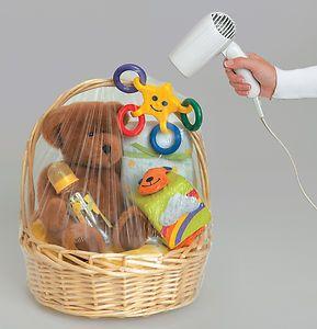 Hamper Wrap cellophane Basket Gift Wrap Large Cello shrink wrap Basket