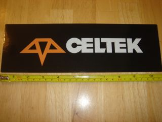 celtek snowboard gloves sticker decal new this auction is for the