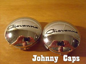 Giovanna Wheels Chrome Center Cap 594K75 Custom Wheel Center Caps 2