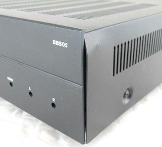 SpeakerCraft BB50S 2 Channel Power Amplifier Powered On