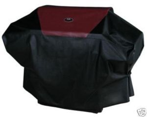 Char Broil Red 68 PVC with Polyester Grill Cover 5787