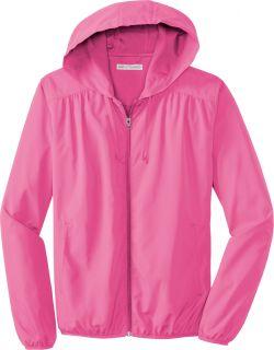 Port Authority Ladies Lightweight Hooded Essential Jacket L305