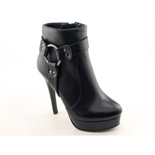 Charles by Charles David Adria Womens Sz 7 Black Boots Ankle Shoes