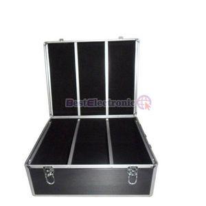 600 Capacity Aluminum CD DVD Storage Case Holder Black