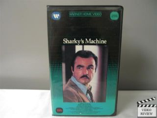 Sharkys Machine VHS Burt Reynolds Charles Durning