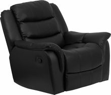 Leather Recliner Home Office Chair Plush Overstuffed Oversized New