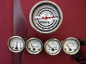 Allis Chalmers Tachometeter Temp Oil PR Fuel Amp Gauge Set D14 D15 D17