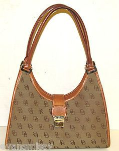 Authentic Dooney Bourke Bardot Hobo Shoulder Bag Satchel Purse Handbag