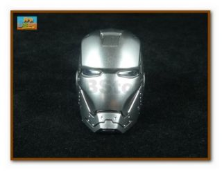 Hot Toys 1 6 Ironman 2 Mark II Don Cheadle Head Sculpt Light Armor