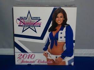 Dallas Cowboys Cheerleaders 2010 Desktop Calendar
