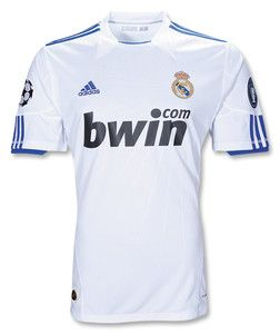 2010 2011 UEFA Champions League Edition Home Soccer Jersey