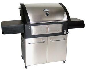 NIB CHARCOAL MASTERBUILT KINGSFORD Large Stainless Steel Console Grill