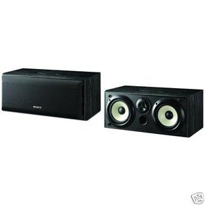 Sony SS CN5000 Dual Center Channel Speaker (Each, Black) New
