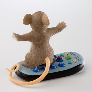 Charming Tails Channel Surfing Remote Control Figurine RARE Prototype