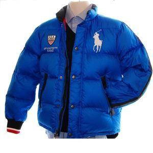 Ralph Lauren Polo Big Pony Down Jacket Parka Puffer Ski Winter Coat