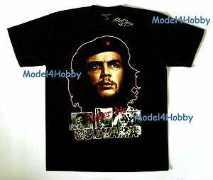 Che Guevara Never Die T Shirt Black Sz M L XL Cuba Argentina Politics