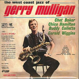 THE WEST COAST JAZZ OF CHET BAKER CHICO~ JAPAN MINI LP CD E25