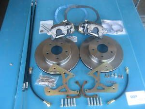 1967 67 Camaro Rear Disc Brakes Chevy Drum Conversion