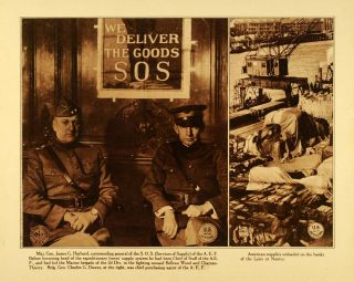 WWI SOS Services Supply General James Harbord AEF Charles Dawes