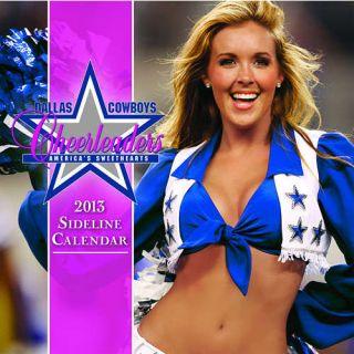 Dallas Cowboy Cheerleaders 2013 Mini Wall Calendar