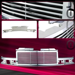 98 99 00 01 02 Chevy S10 Blazer 1pc Chrome Grille Grill
