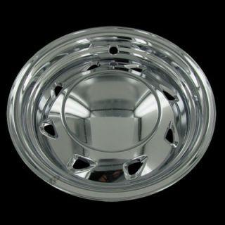 94 04 Chevy S10 GMC Sonoma 15 Chrome Wheel Skins Hubcaps Covers Set