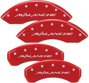 Chevrolet Avalanche MGP Brake Caliper Covers Truck Accessories