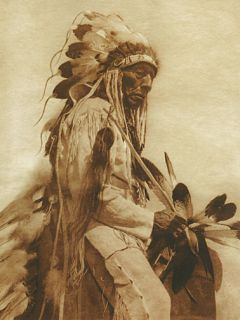 The Old Cheyenne Edward s Curtis Native American Art