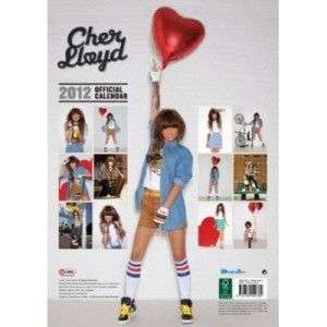 Cher Lloyd x Factor Official 2012 UK Wall Calendar Brand New and