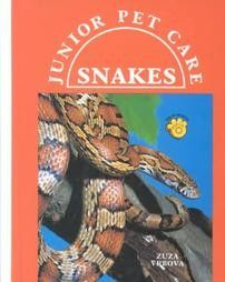Junior Pet Care Snakes by Zuza Vrbova Hardcover Book