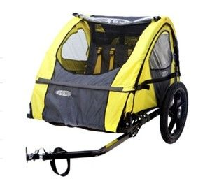 New InStep Presto 2 Seat Childrens Bicycle Bike Trailer 100 lb