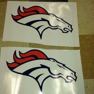 Denver Broncos Cornhole Board Decals NEW Peyton Manning Elway