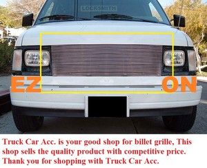 85 94 Chevy Astro Van GMC Safari Van Billet Grille 1pc Replacement