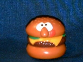 1989 Hallmark Cards Inc Hamburger Toy on Wheels F16
