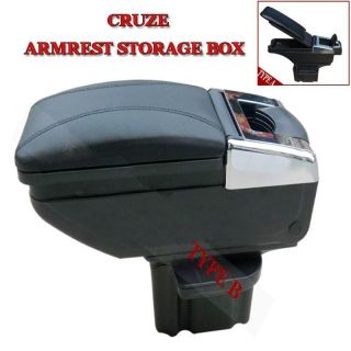 Chevrolet Chevy Cruze Black Gray Beige Armrest Storage Box Cover
