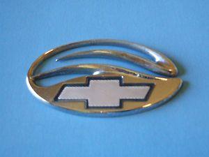 Chevy Malibu Logo Chrome Emblem 1997 2003 Badge OEM Chevrolet