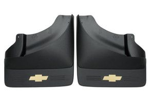 2007 2012 Chevy Silverado 3500HD Dually Molded GM Splash Mud Guards